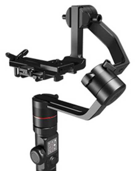 FeiyuTech AK4000 - Camera Stabilizer 3-Axis Gimbal Handheld for DSLR Mirrorless Cameras up to 8.8 lbs (4kg) Payload for Sony Panasonic Lumix Nikon Canon Camera