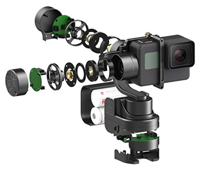 Zhiyun Rider-M 3-Axis High-Precision Portable Gimbal Stabilizer PTZ Camera Mount with Built-in Independent IMU module Stabilizer