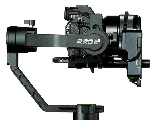 EVO RAGE3 Camera Stabilizer for Mirrorless or DSLR Cameras with Advance Follow Focus Control - Supports up to 7LB Payload